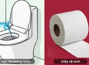 8 ưu điểm của vòi rửa so với dùng giấy vệ sinh
